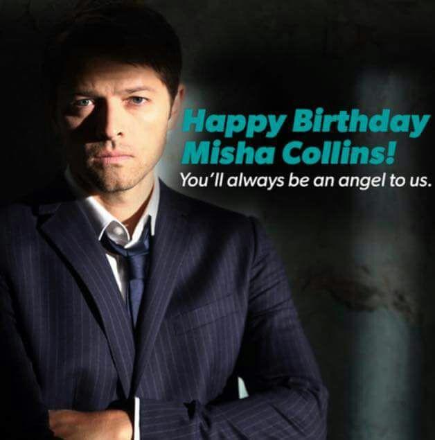 misha collins birthday Happy Birthday Misha Collins!!! | Supernatural Amino misha collins birthday
