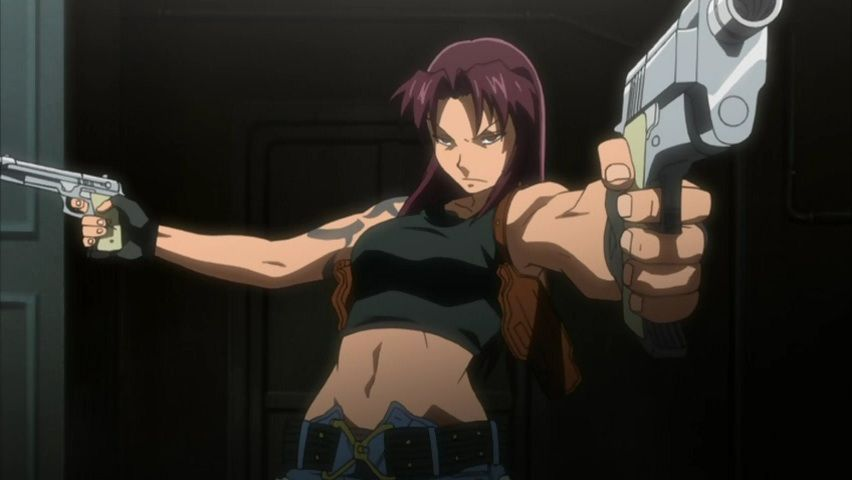 Revy Is Fairly Mysterious Person And One Crazy Gun Wielder