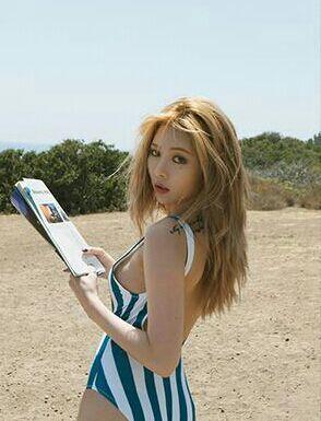 Hyuna Bikini