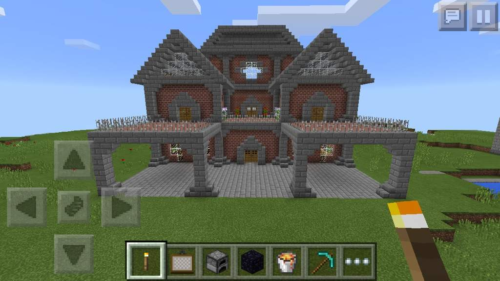 How To Build A Small Brick House In Minecraft