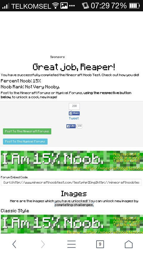 I take the Noob Test! | Minecraft Amino