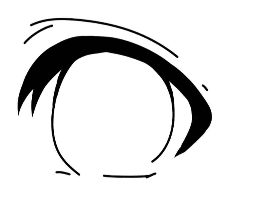 You then proceed to add the inner part of the eye or the iris it is most commonly round or oval like sometimes even cubed in certain anime ▭ ▭✧