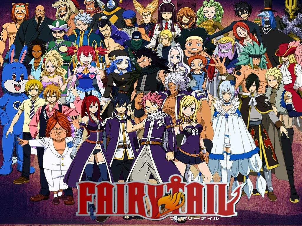 My top 10 Favorite Fairy Tail characters | Anime Amino