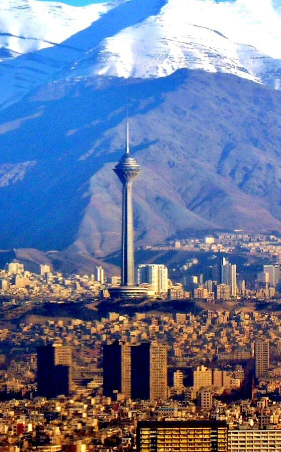 Milad Tower Tehran Iran Photography Amino