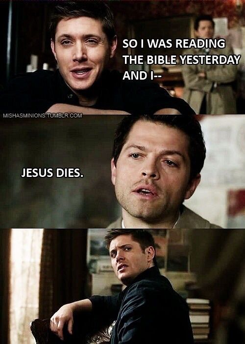 Funny Castiel Quotes: Some Funny Supernatural Memes