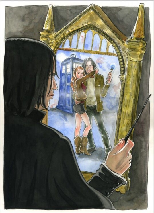 Harry Potter Classroom: The Mirror Of Erised
