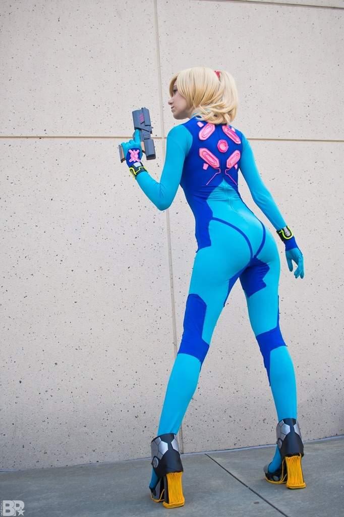 EL Wire - Zero Suit Samus | Cosplay Amino