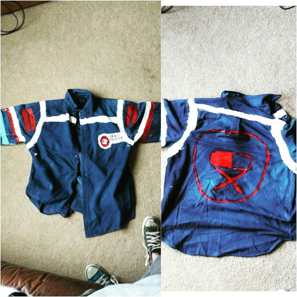 How To Make A Party Poison Jacket Cosplay Amino
