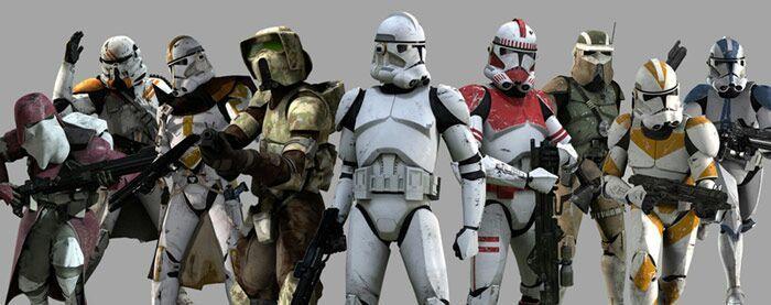 phase 1 vs phase 2 clone armor star wars amino