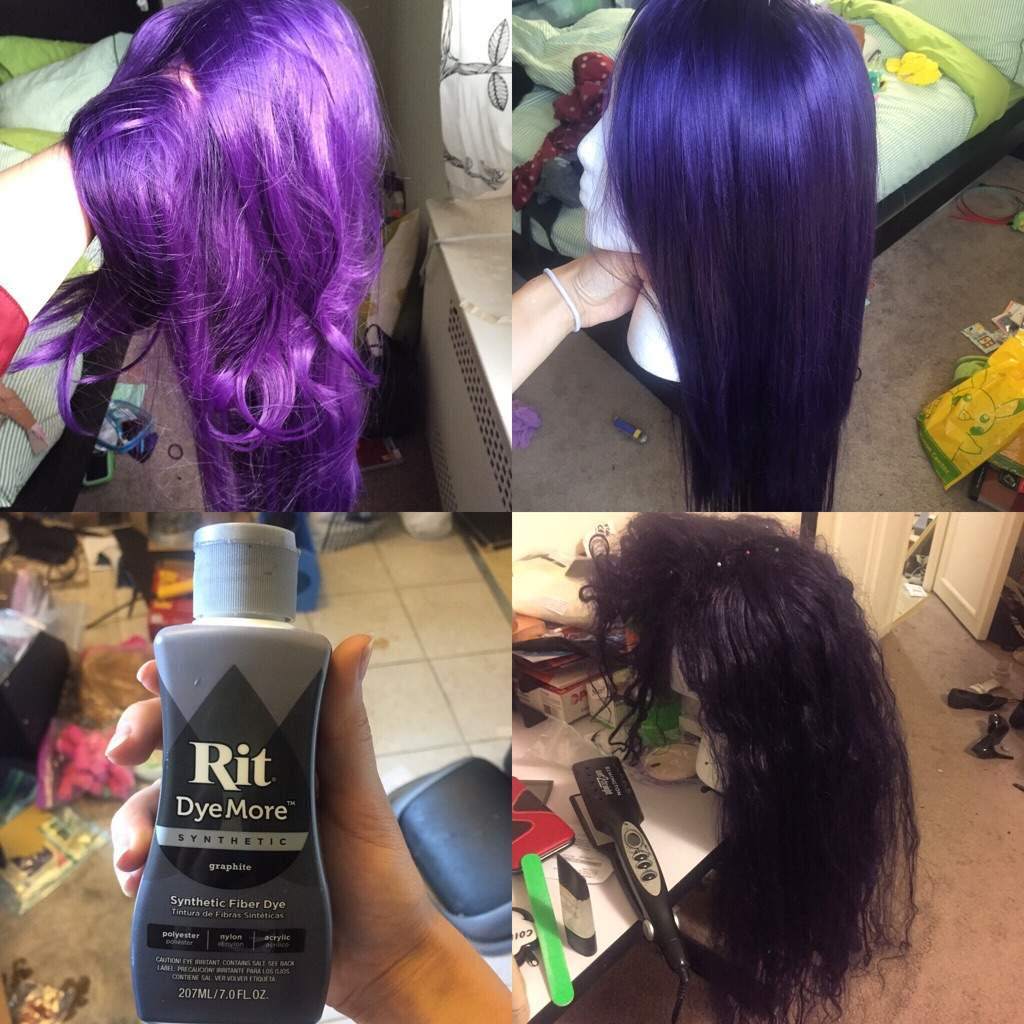 Dyeing/Tinting Your Wig Because You\'re Picky | Cosplay Amino