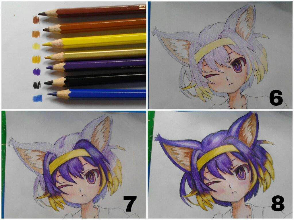 tutorial 1: coloring tutorial!!! (colored pencils) | anime amino