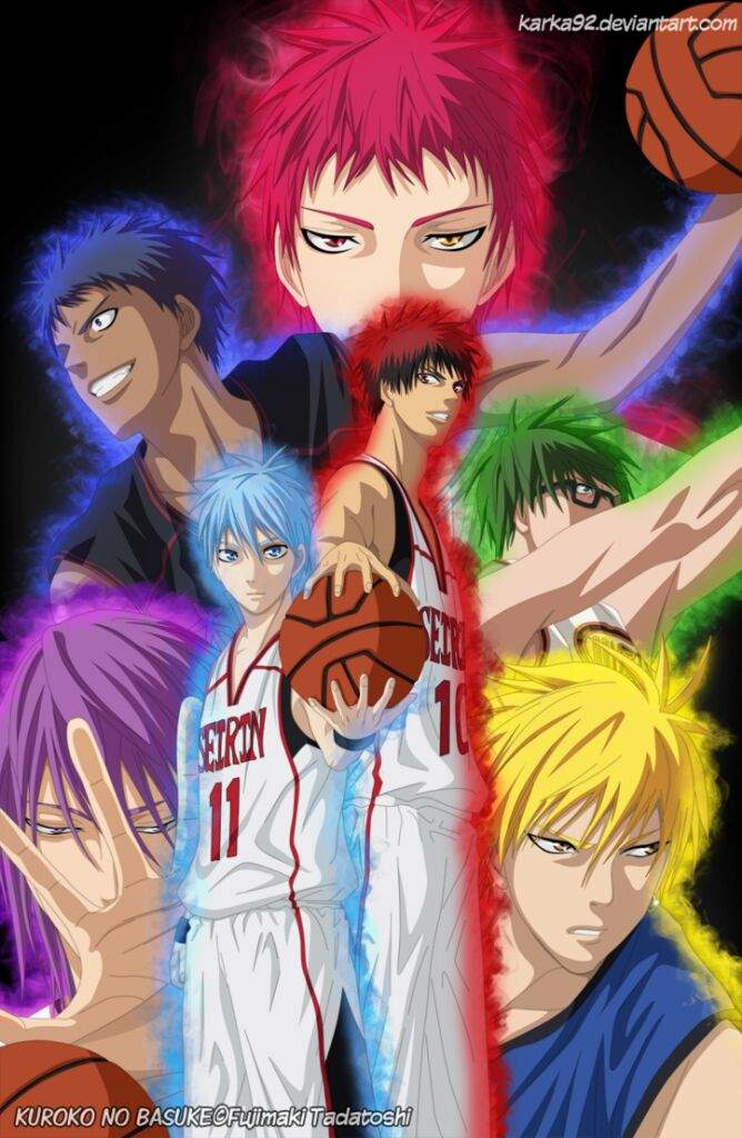 Generation Of Miracles Source Kuroko No Basketball Anime Amino