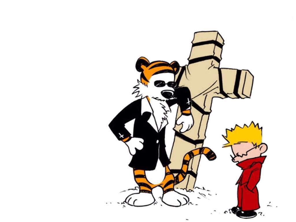 calvin and hobbes trigun anime amino rh aminoapps com  calvin and hobbes clipart free