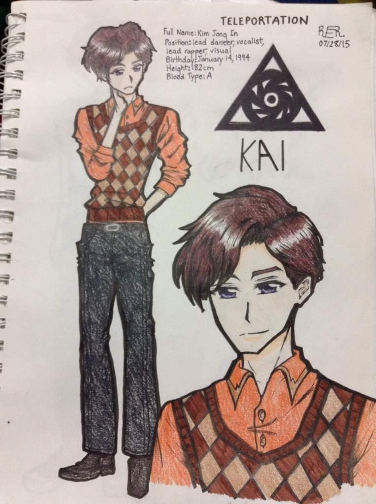 Anime Exo Character Profiles K Pop Amino