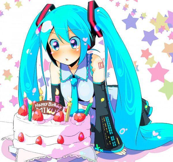 HAPPY BIRTHDAY MIKU !