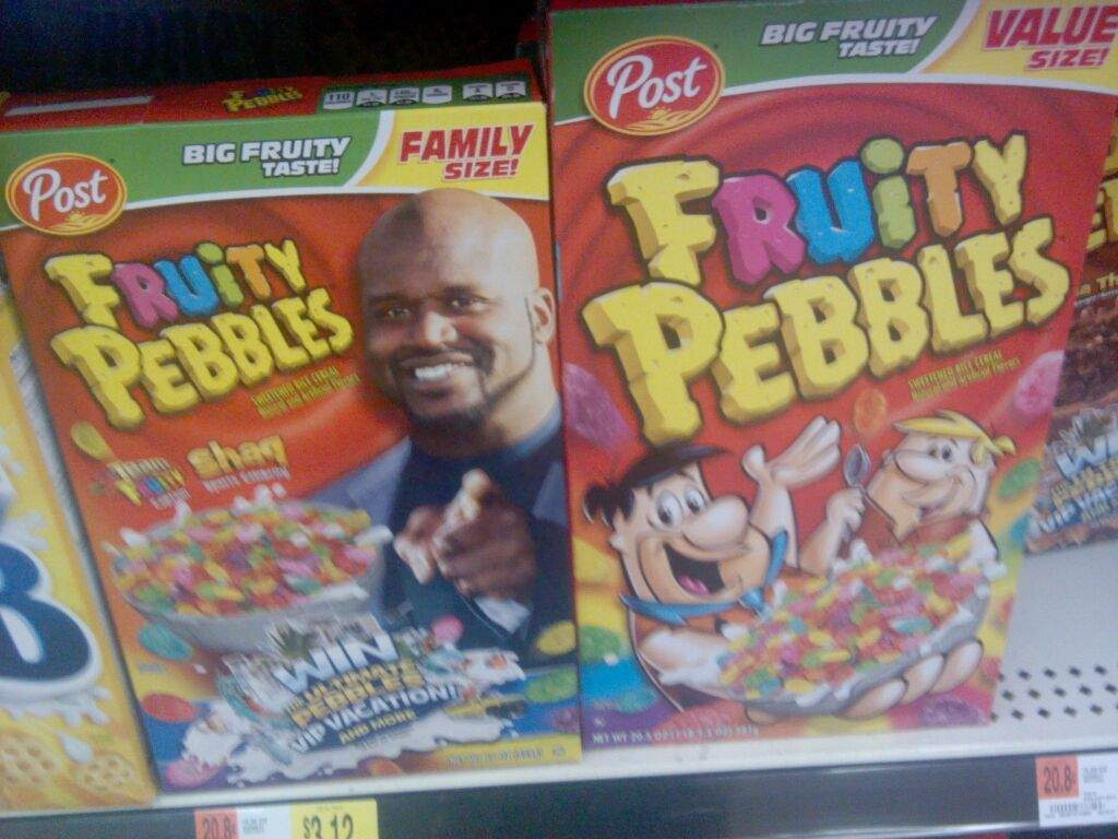 Through All Of The Fruity Pebble Boxes None Of Them And None Of Them Had John Cenas Ugly Ass Face On Them So Now I Can Eat My Favorite Cereal Again