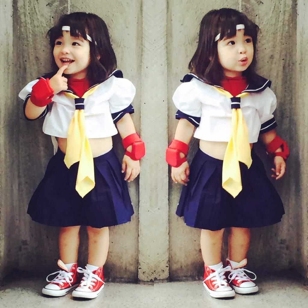 Shared Folder  sc 1 st  Amino Apps & Sakura Street Fighter Toddler Cosplay | Wiki | Cosplay Amino