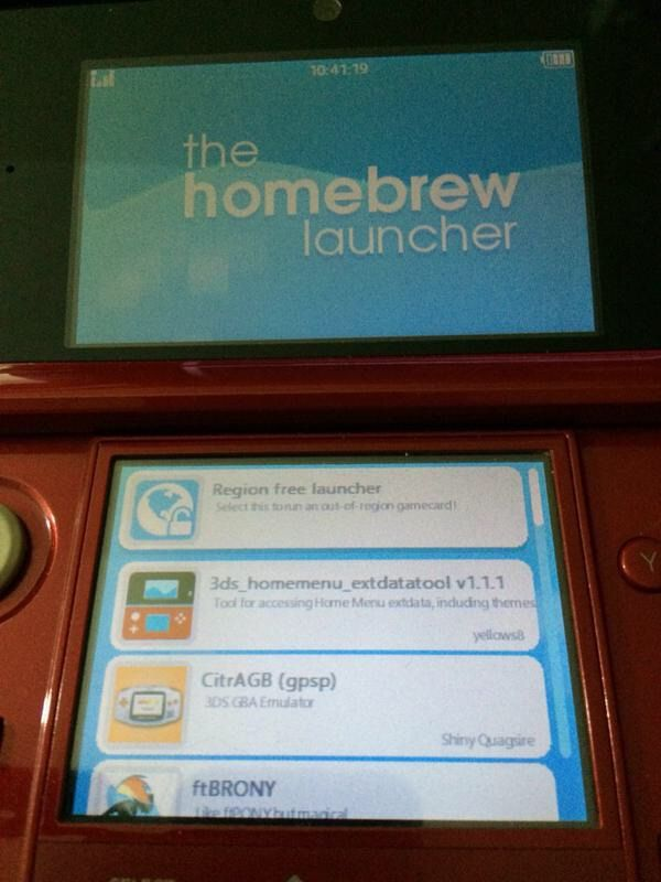 If you need help with homebrew on 3ds | Pokémon Amino