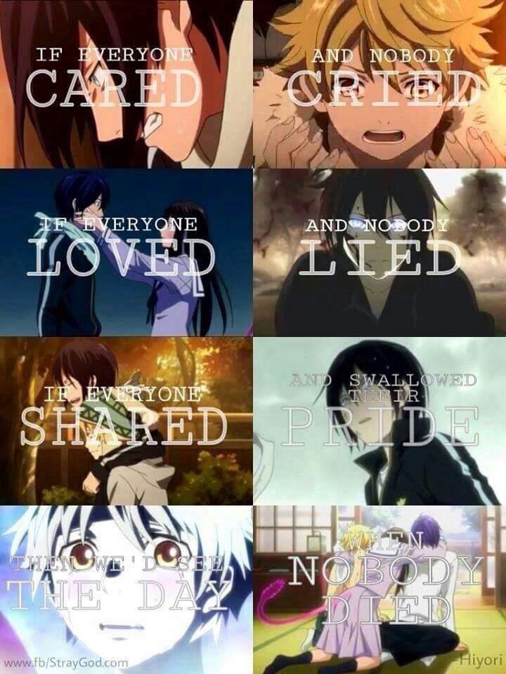 Noragami Quotes   Anime Amino