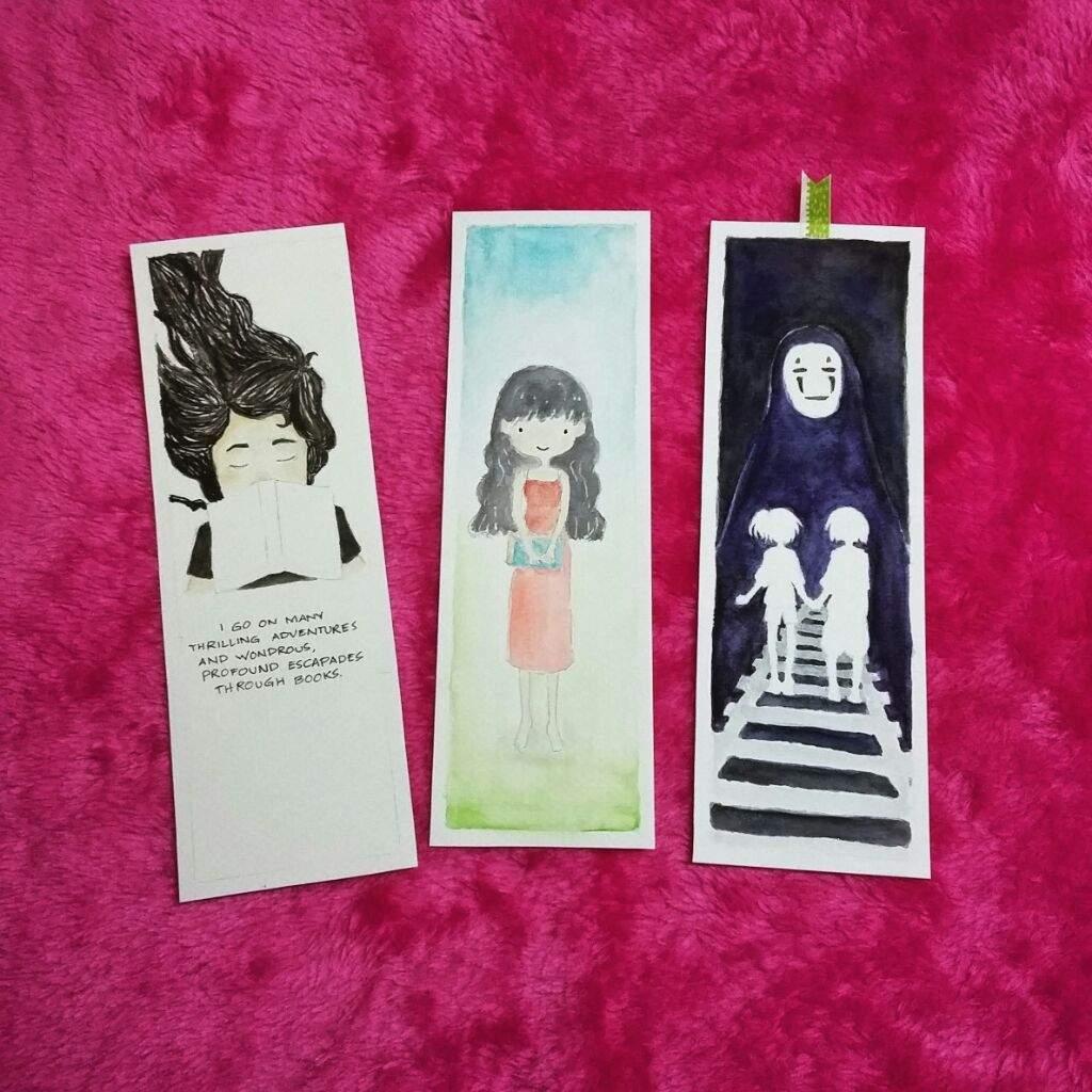 Bookmark design using watercolor (help) | Art Amino