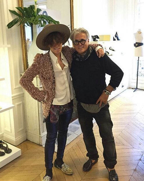 Shoe Designer Giuseppe Zanotti