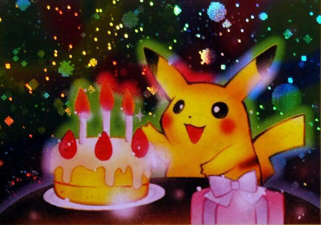 Happy Birthday – Birthday Pikachu Card