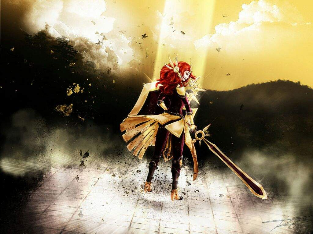 leona the radiant dawn league of legends official amino