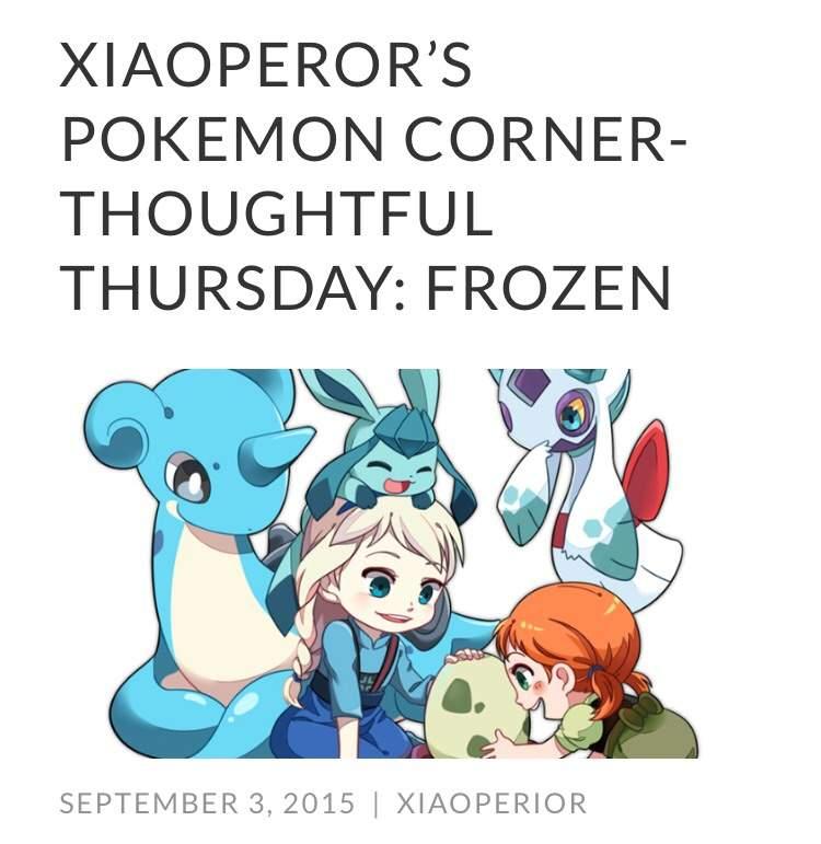 frozen status pokemon