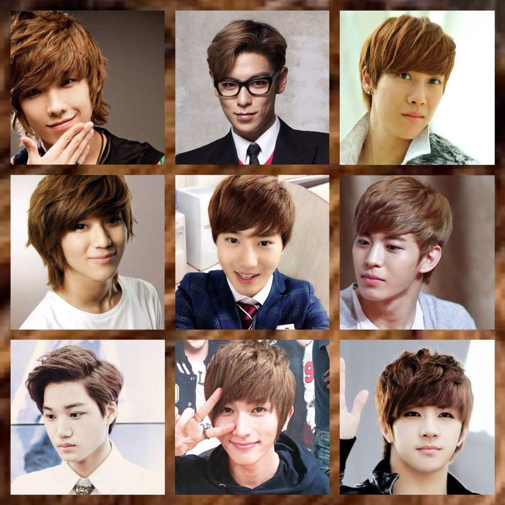 Male Kpop Hair What Style Colour Is Your Favourite