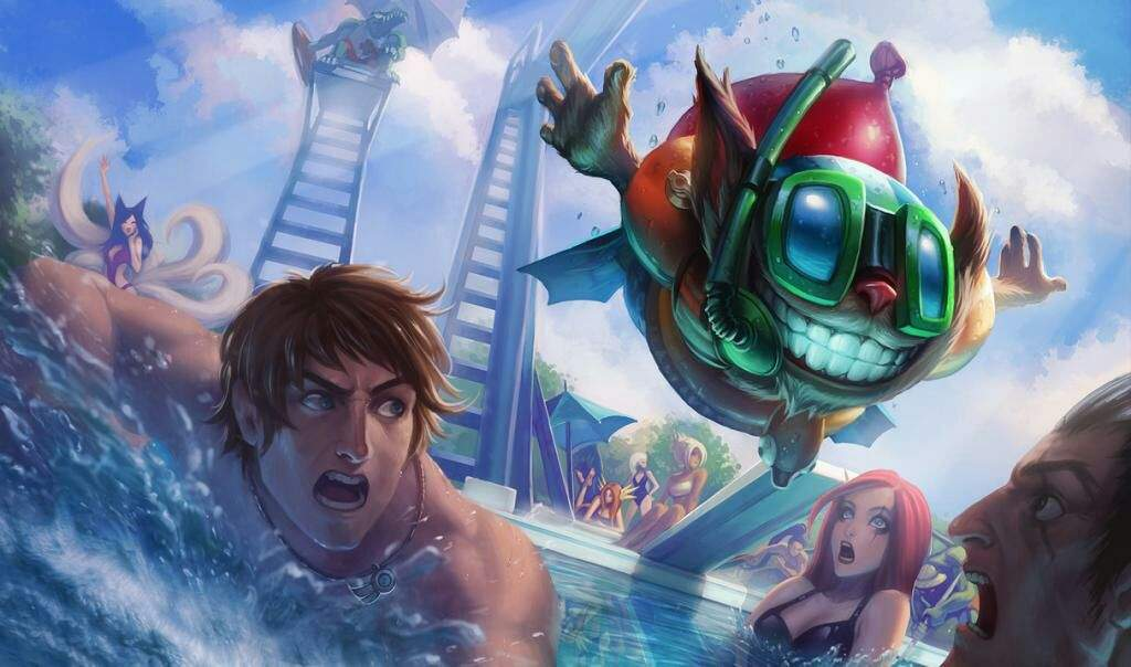 Image result for pool party anime