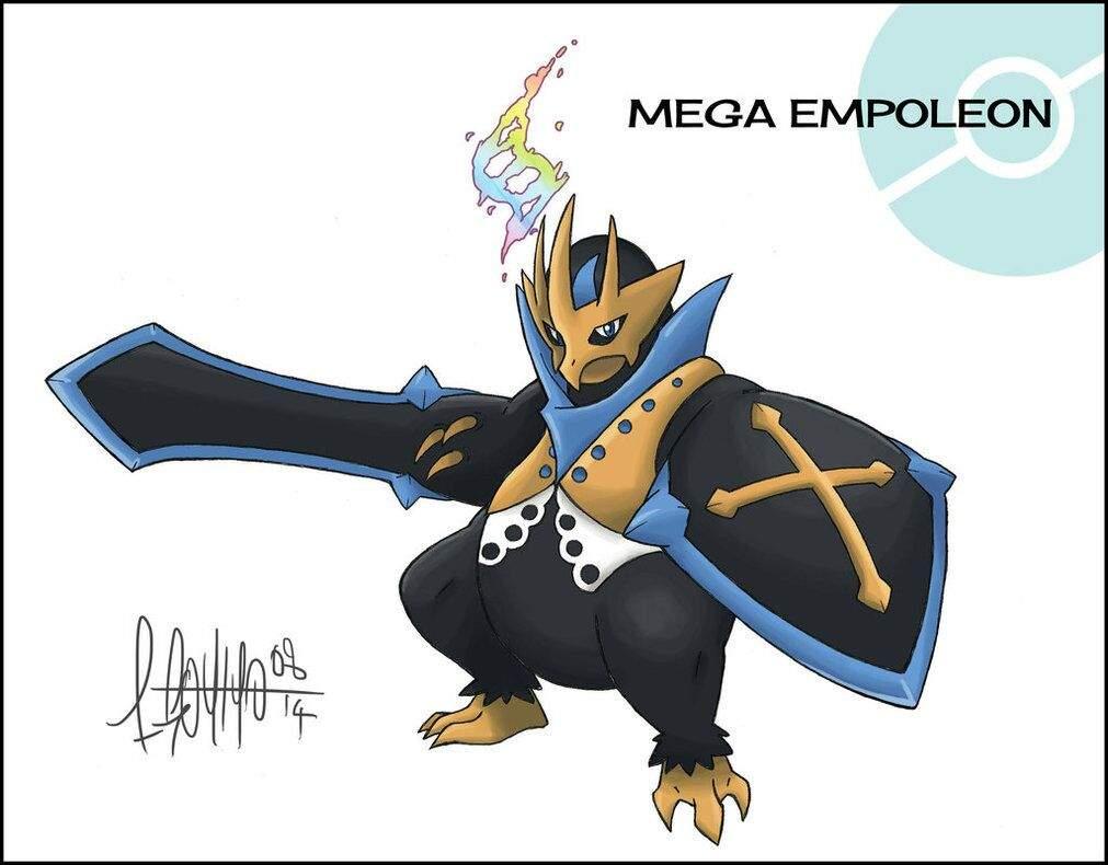 Mega Empoleon Concept ...