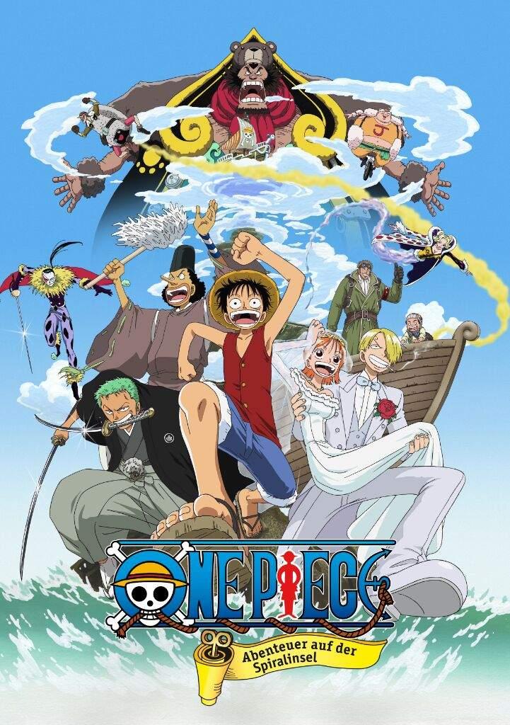 Top 5 One piece movies | Anime Amino