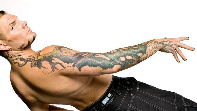 top 15 coolest wwe superstar tattoos wrestling amino. Black Bedroom Furniture Sets. Home Design Ideas