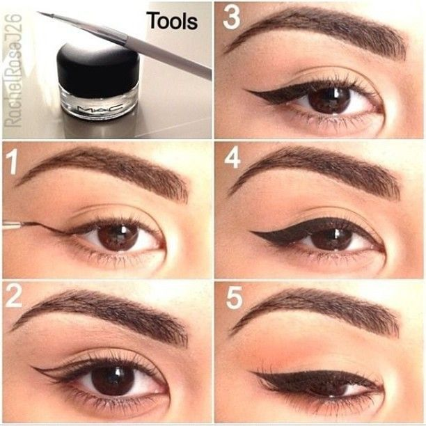 How to do kpop eyeliner k pop amino for these looks here is an easy set guide on how to apple the correct and perfect cat eye now again practice makes perfect ccuart Gallery