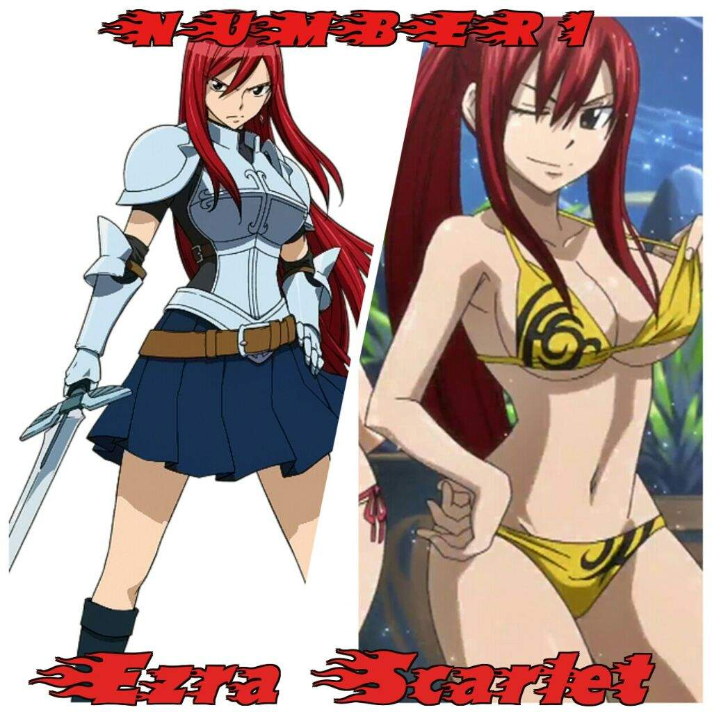 Anime hot girl character