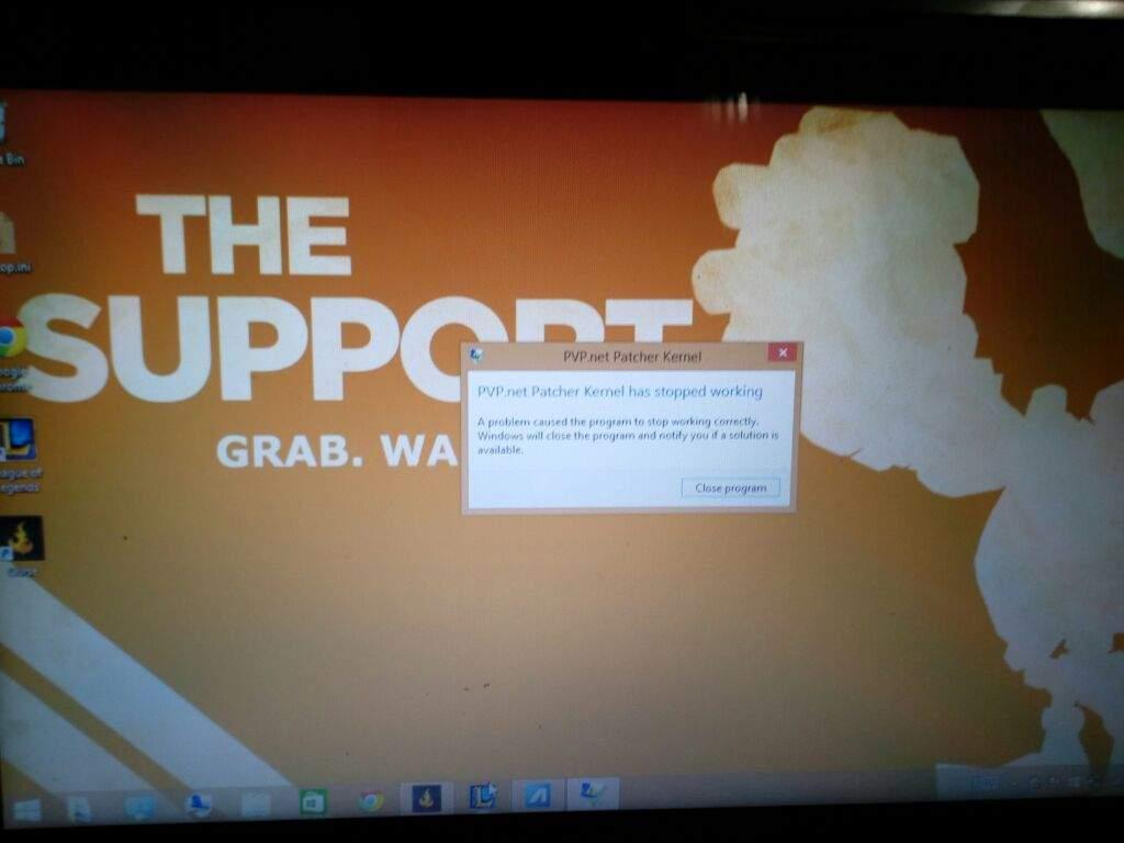 pvp.net kernal not working