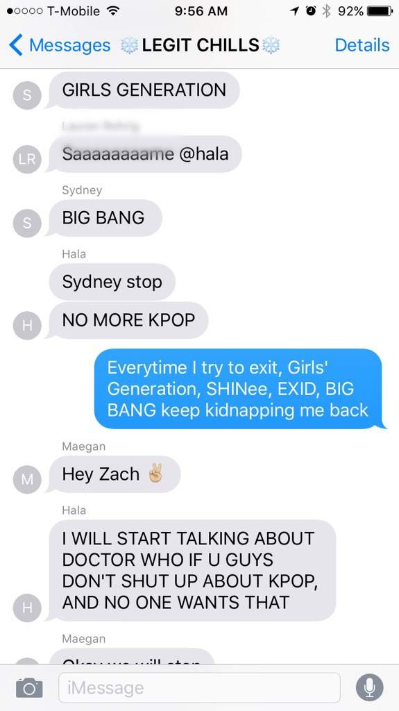 Group chat names for girls