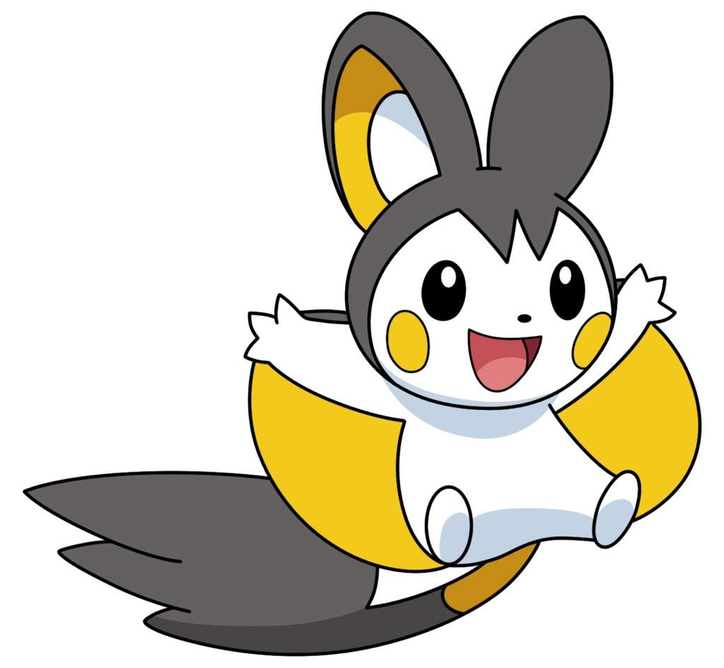 Emolga Was An Electric And Flying Type Pokémon Caught By Iris