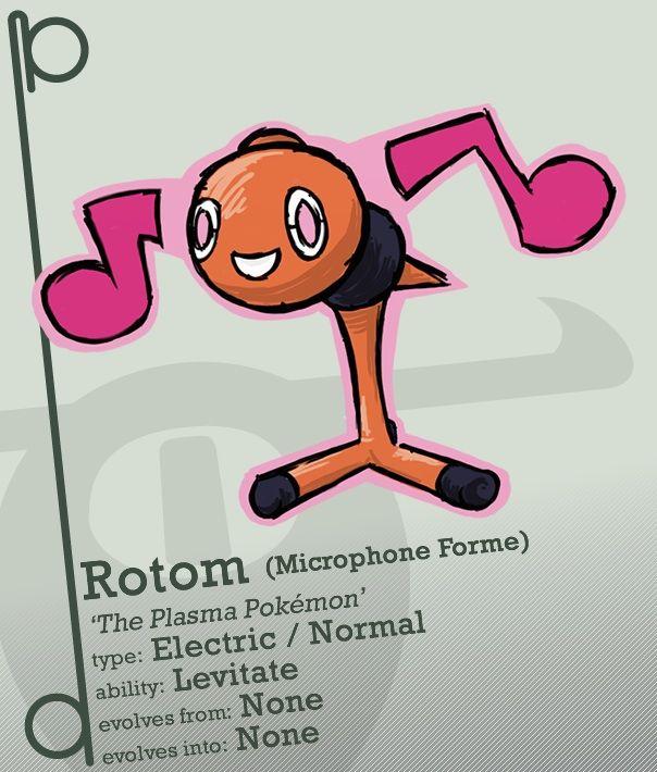 Rotom Evolution