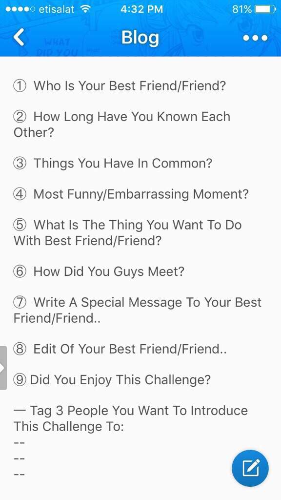 what to do with best friend
