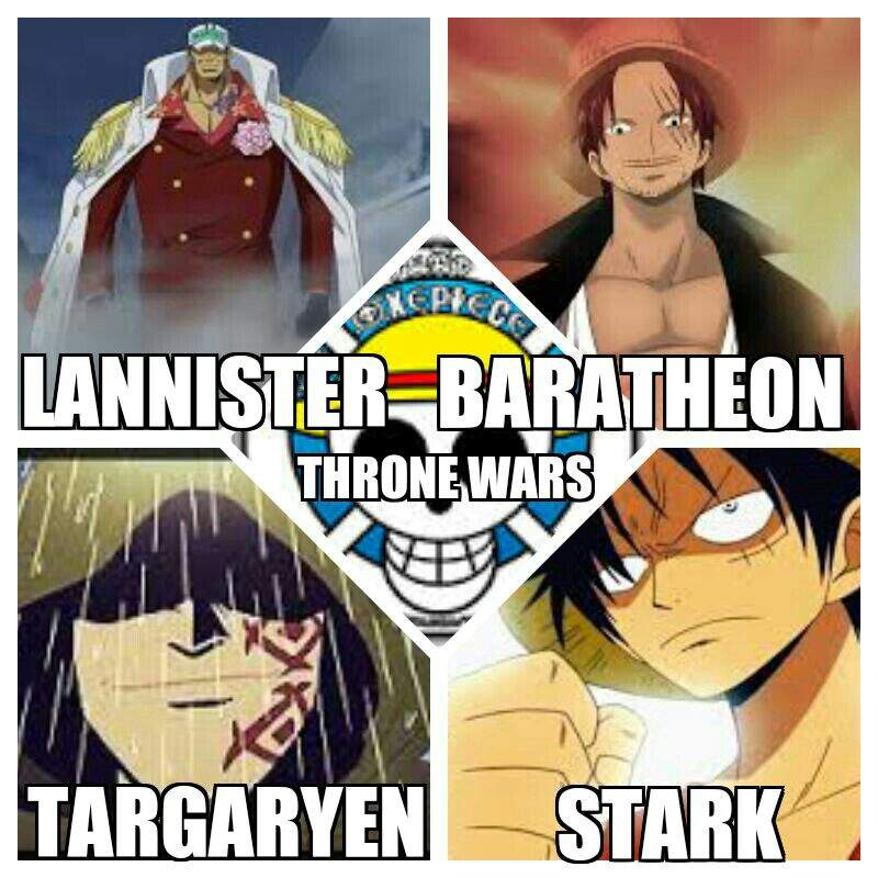 ONE PIECE X GAME OF THRONES