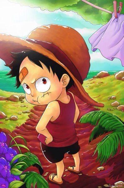 92 Foto Gambar Lucu Luffy Kekinian