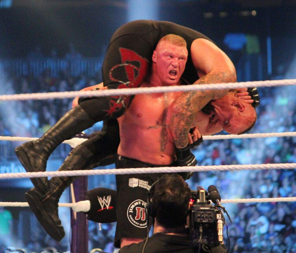 Yesterday I Presented You Three Possible Opponents For The Undertaker At WM 32