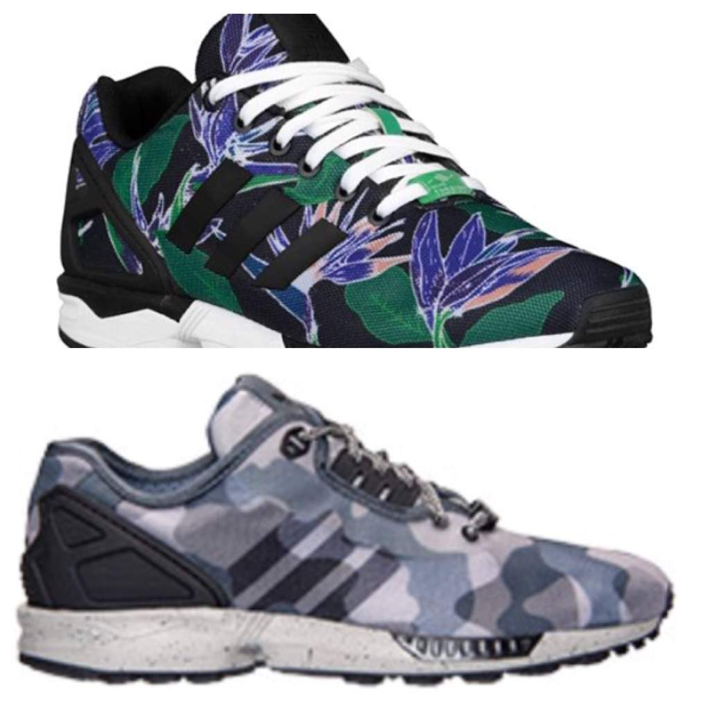 daa39e760886 Which Adidas ZX Flux Colorway Would You Perfer  Top Or Bottom ...