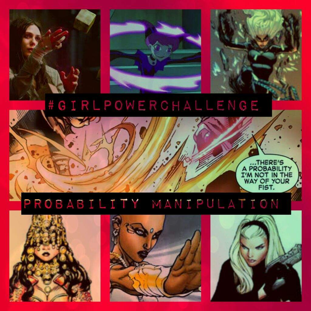 GirlPowerChallenge : Probability Manipulation | Take A Chance