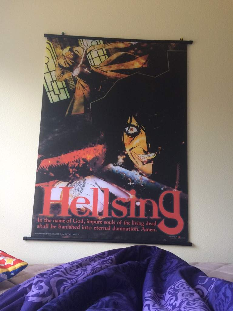 Alucard Stares At Me At Night Anime Amino