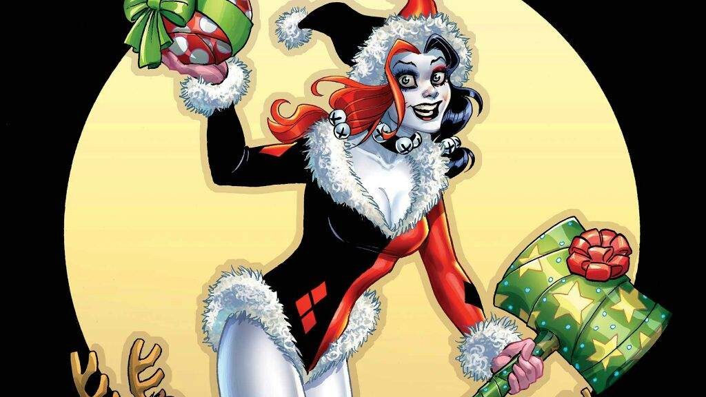 Harley Quinn Christmas.Christmas Harley Quinn I Know It S Too Early Cosplay Amino