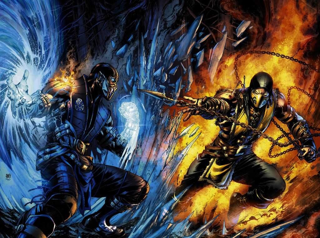 Scorpion Vs Sub Zero Video Games Amino