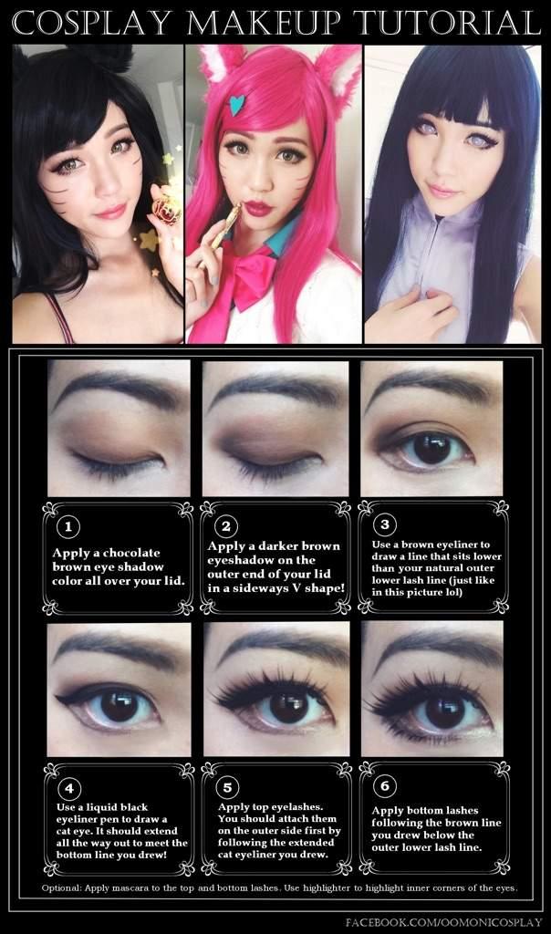My Go To Cosplay Eye Makeup Look Cosplay Amino