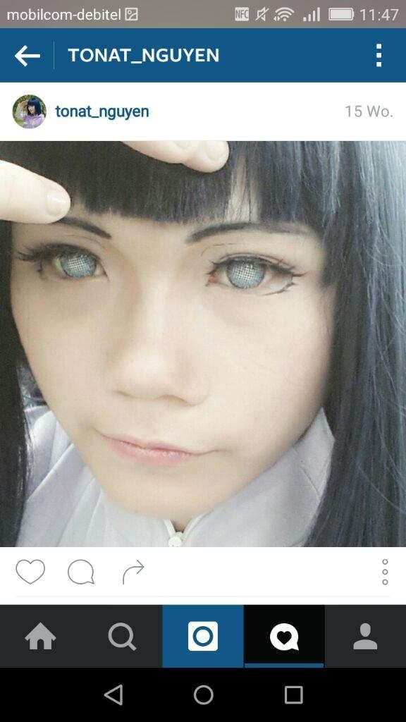 Hinata cosplay contact lenses